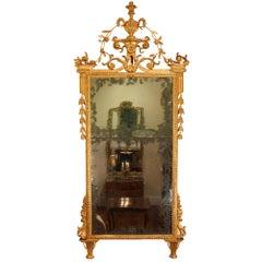 Italian 18th Century Tuscan Giltwood Mirror, circa 1730