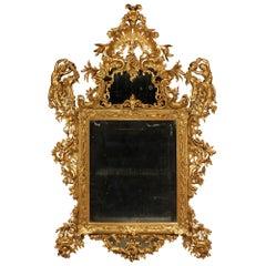 Italian 18th Century Venetian Giltwood Mirror