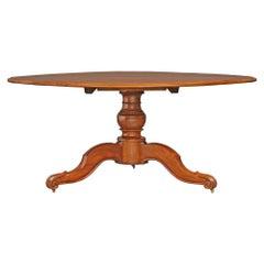 Italian 18th Century Walnut Tilt-Top Center Table