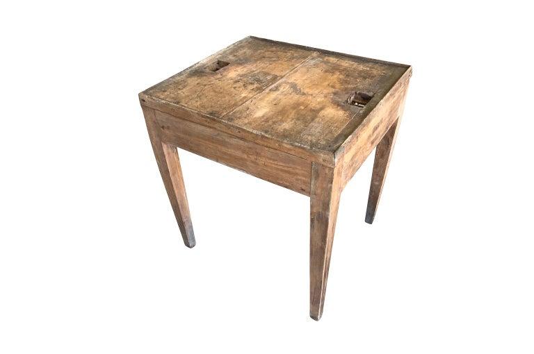 Wood Italian 18th Century Work Table For Sale