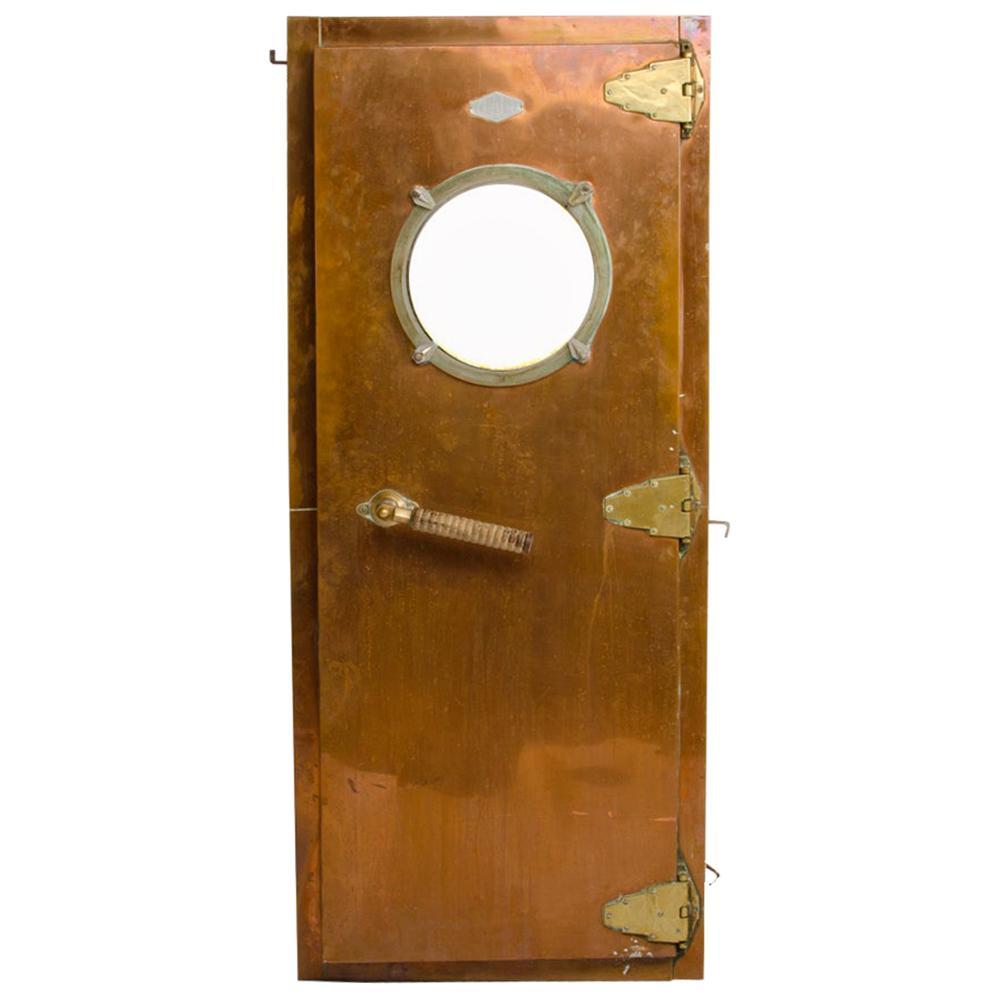 Italian 1930's Copper Door