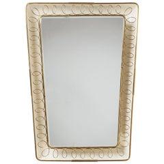 Italian 1940s Backlit Mirror