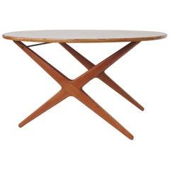 Italian 1950s Adjustable Dining / Coffee Table