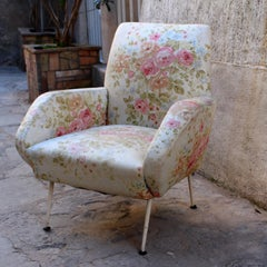 Italian 1950s Arm Chairs