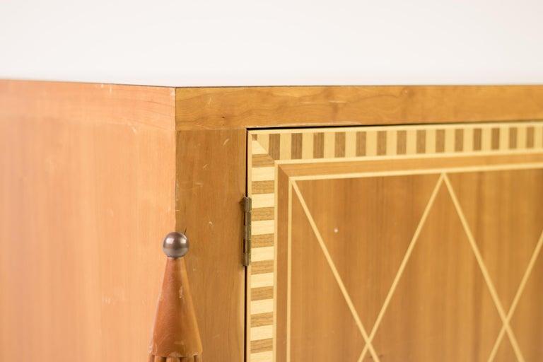 Mid-Century Modern Italian 1950s Cabinet For Sale