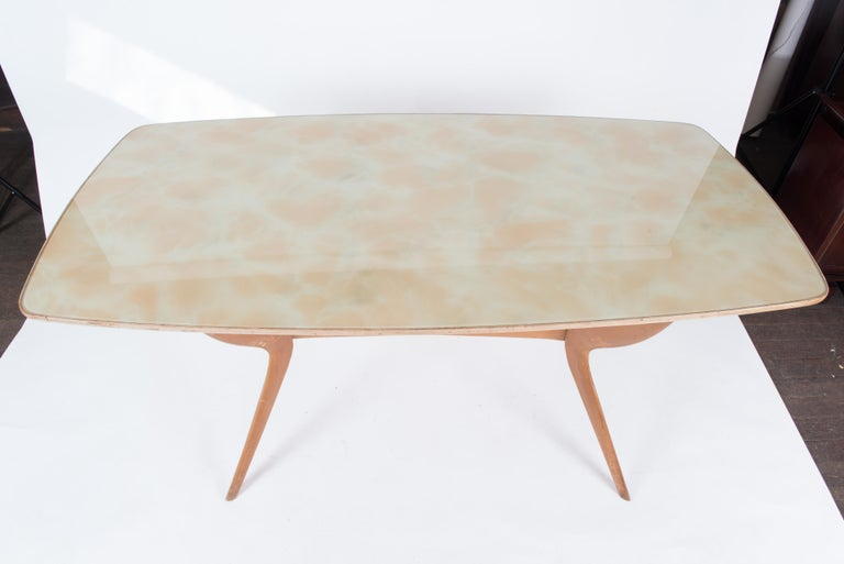 Italian 1950s Dining Table or Writing Table For Sale 9