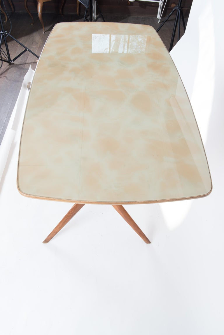 Italian 1950s Dining Table or Writing Table For Sale 10