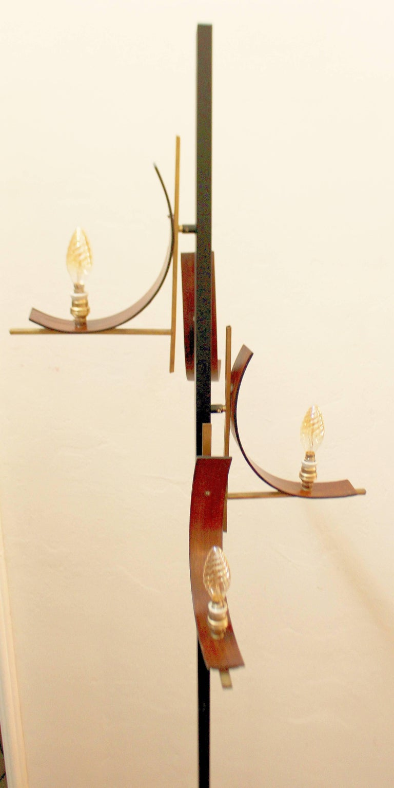 Mid-20th Century Italian 1950s Floor Lamp For Sale