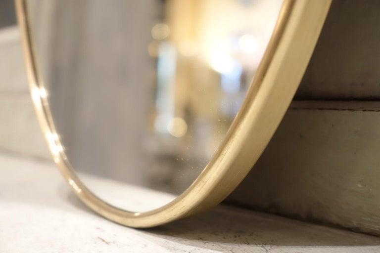 20th Century Italian 1950s Mirror-Shield Shape