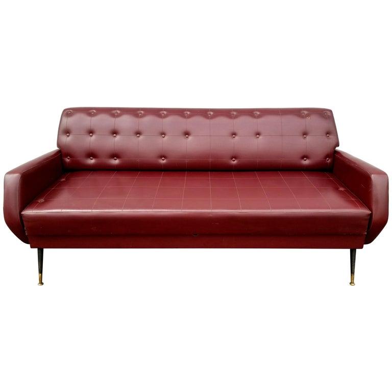 Italian 1950s Sofa For Sale