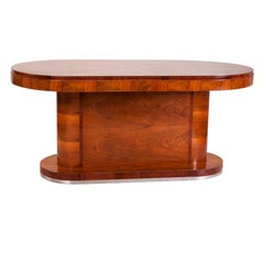 Italian 1950s Walnut Table