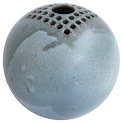 Italian 1960 Ceramic Ikebana Vase by Bucci