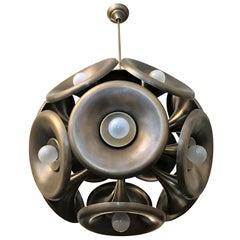 Italian 1960s Esperia Dandelion Sputnik Pendant