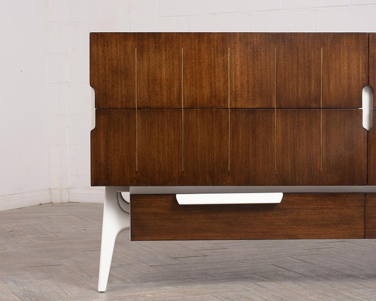 Mid-Century Modern Italian Credenza In Good Condition For Sale In Los Angeles, CA