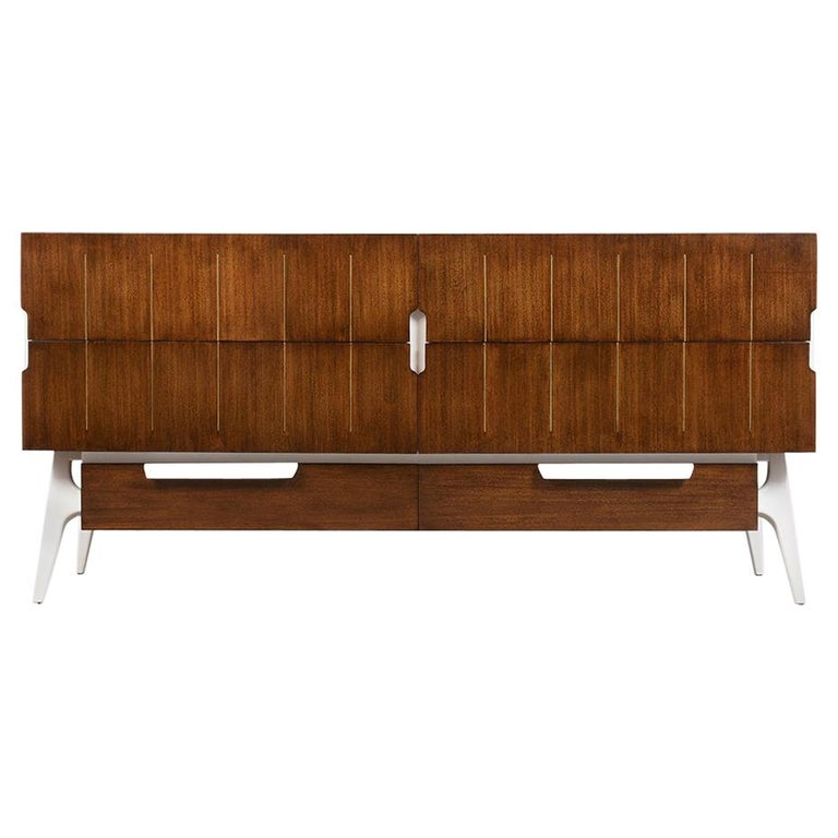 Mid-Century Modern Italian Credenza For Sale