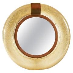 Italian 1960s Murano Dressing-Table Mirror by Tommaso Barbi
