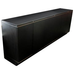 Italian 1970s Credenza by Borsani and Gerli for Tecno with Matching Desk