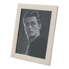 Italian 1970s Silver Plate Picture Frame