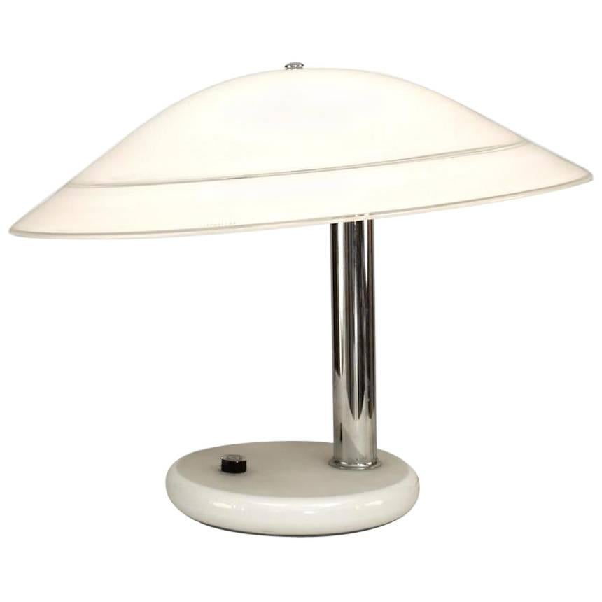 Italian 1970s Venetian Murano Table Lamp