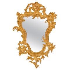 Italian 19th Century Baroque St. Ormolu Mirror
