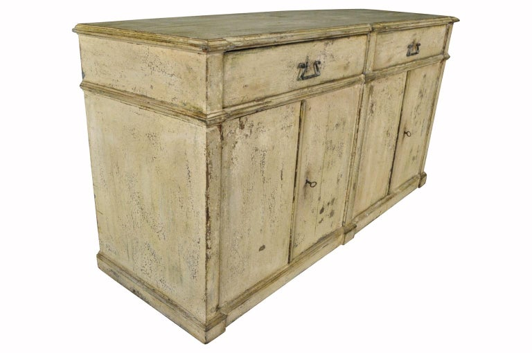 Painted Italian 19th Century Buffet For Sale