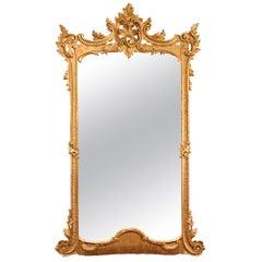 Italian 19th Century Giltwood Mirror