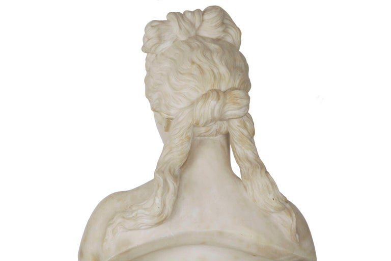 Italian 19th Century Grand Tour Marble Bust of Capitoline Venus 9