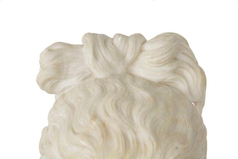 Italian 19th Century Grand Tour Marble Bust of Capitoline Venus 11