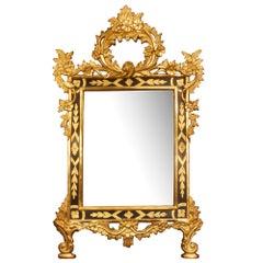 Italian 19th Century Louis XV St. Mirror
