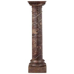Italian 19th Century Marble Pedestal