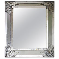 Italian 19th Century Mirror-Framed Mirror