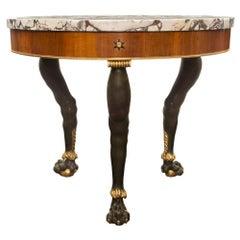 Italian 19th Century Neo-Classical St. Center Table