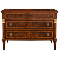 Italian 19th Century Neoclassical St. Commode, in the Manner of Maggiolini