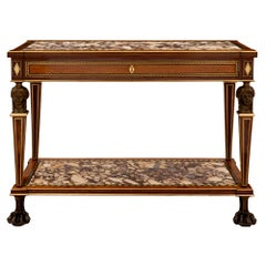 Italian 19th Century Neoclassical Style Freestanding Console