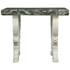 Italian 19th Century Neoclassical Style Marble Center Table
