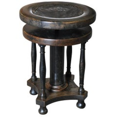 Italian 19th Century Piano Stool