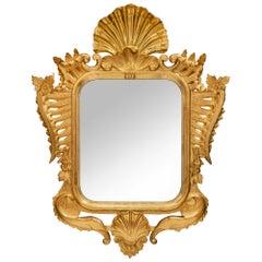 Italian 19th Century Venetian Giltwood Mirror