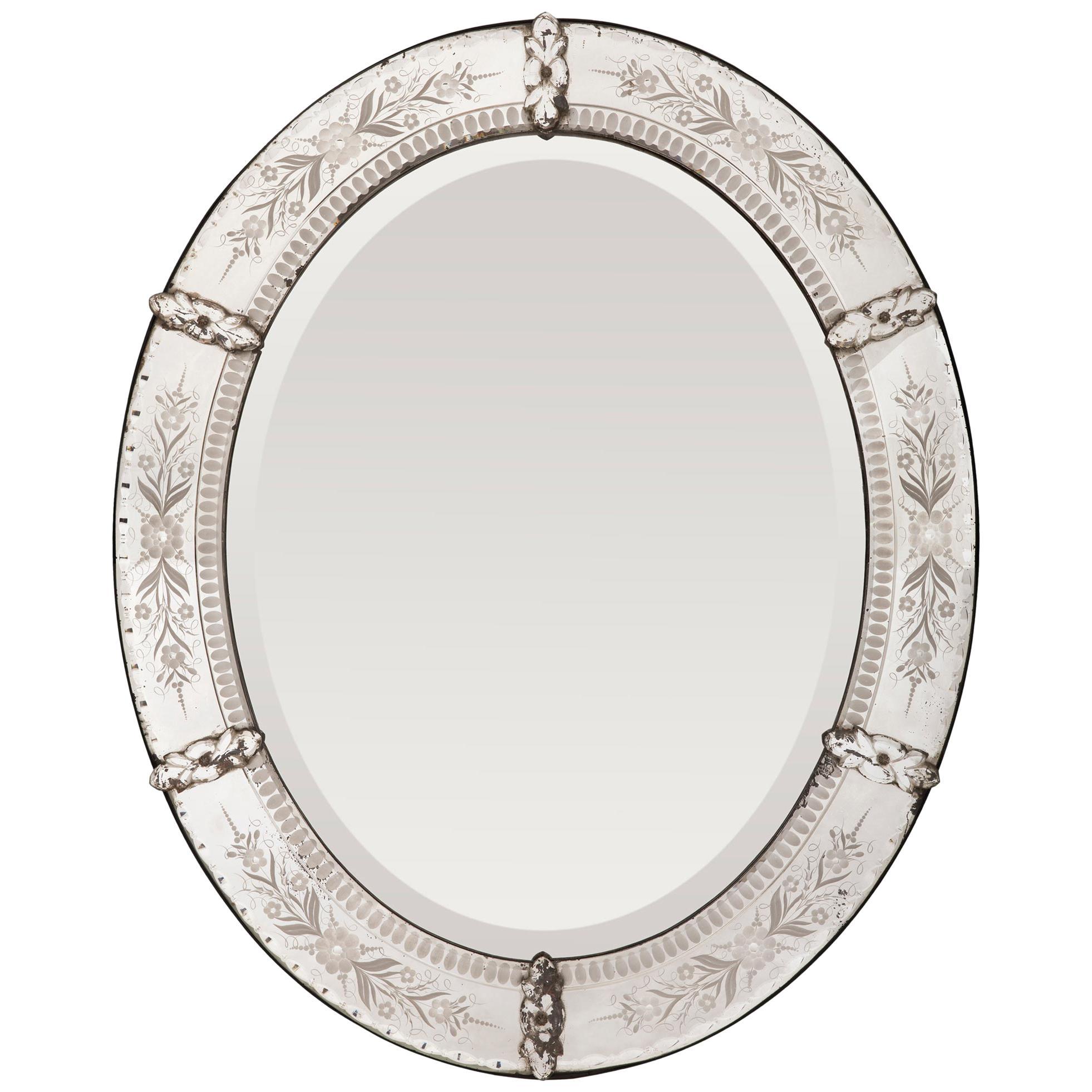 Italian 19th Century Venetian Mirror