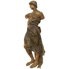 Italian 19th Century Wood Figurine