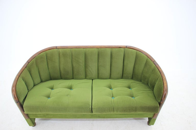 Italian 2-Seat Sofa in the Style of Gio Ponti, 1950s In Good Condition For Sale In Barcelona, ES
