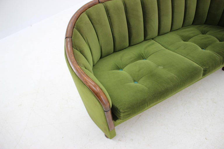 Italian 2-Seat Sofa in the Style of Gio Ponti, 1950s For Sale 2