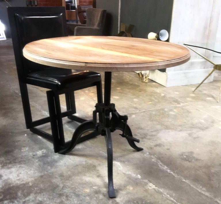 Italian 40s Adjustable Industrial Table For Sale 1