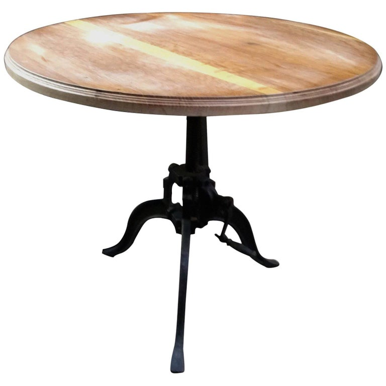 Italian 40s Adjustable Industrial Table For Sale