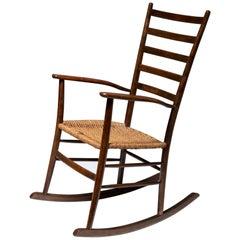 Italian 1950s Rocking Chair