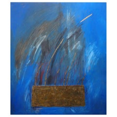 Italian Abstract Oil on Canvas by Fausta Dossi, Milan, 2006