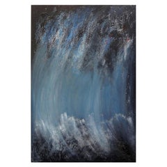Italian Abstract Oil on Canvas by Fausta Dossi, Milan, 2008