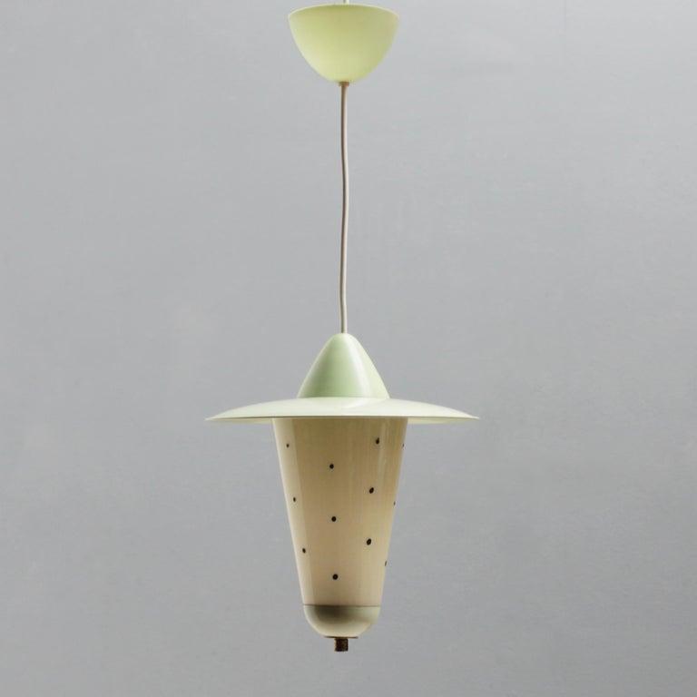 Mid-Century Modern Italian Acorn Lantern