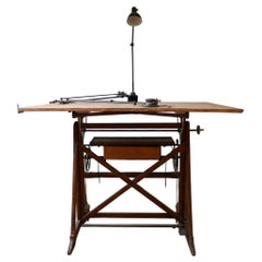 Italian Adjustable Architects Desk