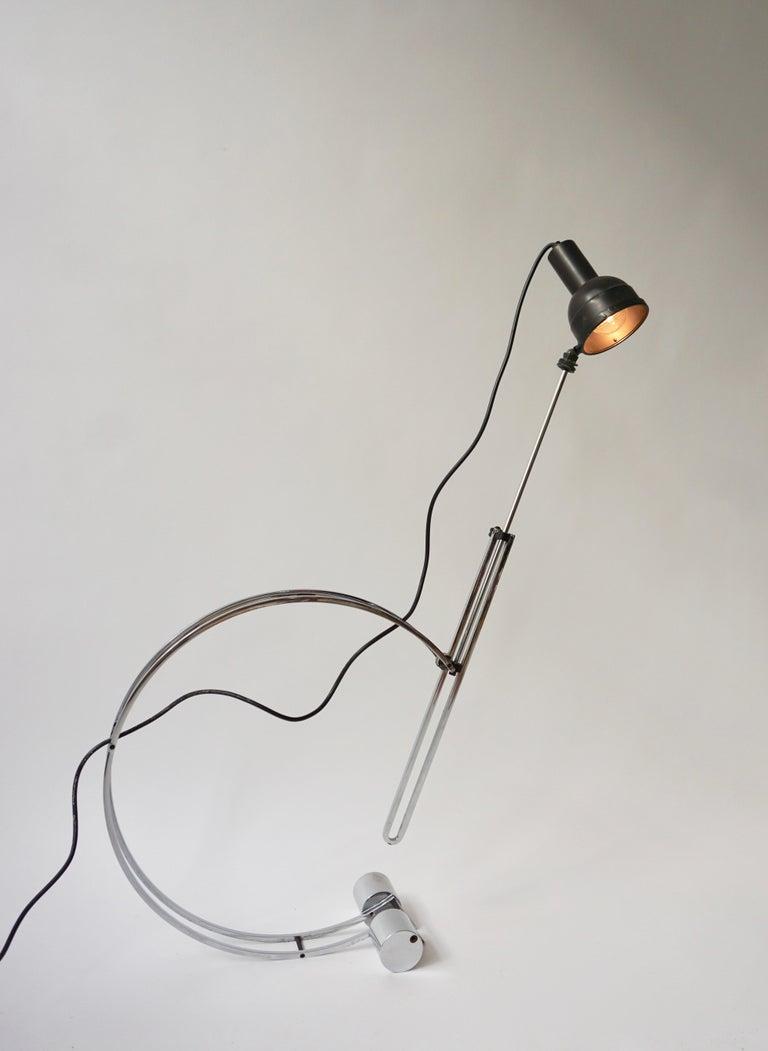 Italian Adjustable Table Lamp For Sale 4