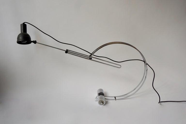 Italian Adjustable Table Lamp For Sale 6